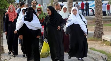 Palestinian Pilgrims Leave Gaza Strip for Kingdom of Saudi Arabia