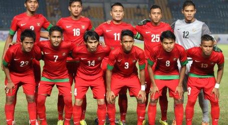 Indonesian FIFA Ranking Slips into 191th Spot