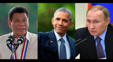 President Duterte to Meet with Obama and Putin