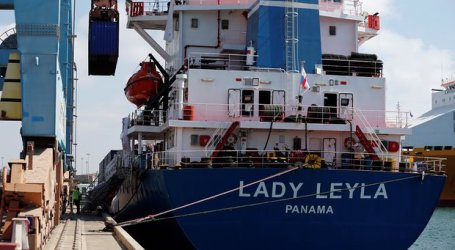Turkish Ship Docks in Israel Bearing Aid Bound for Gaza
