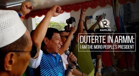 Duterte Launches Anti-Poverty Projects in Muslim South