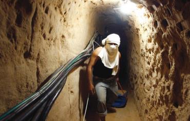 Israel Bombs Underground Gaza Complex After Bast
