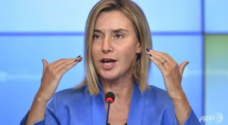 EU's Mogherini Urges Gulf States to Accept Amir of Kuwait's Mediation