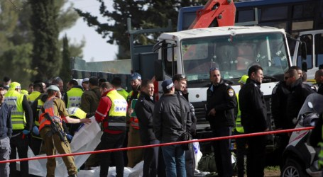 Israel Detains Five Relatives of Palestinian Responsible for Deadly Jerusalem Truck Attack