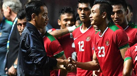 Indonesian President Sets Up Team to Advance Football in the Country