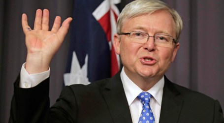 Kevin Rudd Calls for Australia to Formally Recognise Palestinian State