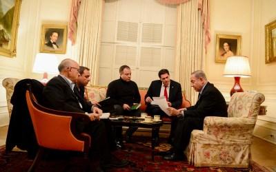 Netanyahu Denies Plans for Palestinian State in Gaza, Sinai Peninsula
