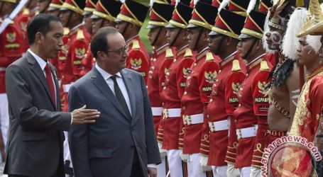 France, Indonesia Vow to Push for Middle East Peace