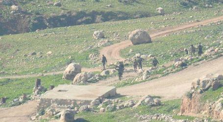 Israeli Military Drills Sweep Palestinian Lands East of Nablus