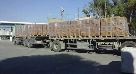 Turkish Humanitarian Aid Reaches Gaza from Israeli Sea Port