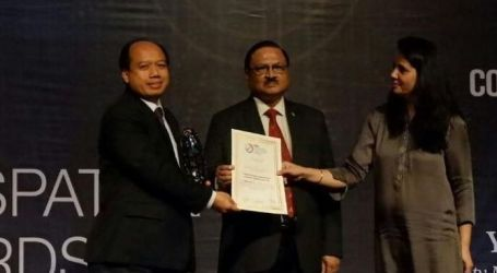 BNPB Wins Geospatial Asia 2017 Award
