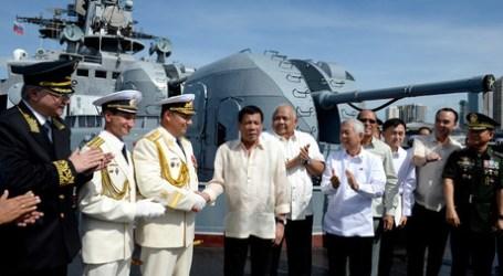 Duterte Receives Russian Assault Rifle Shipment