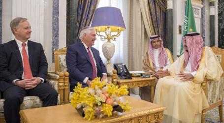 US State Secretary Meets Saudi King in Riyadh