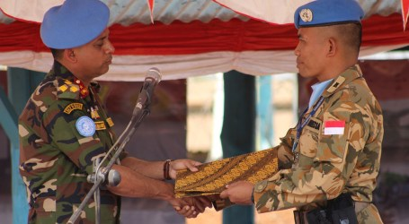 22 Indonesian Soldiers Promoted for UN Peace Missions in Congo