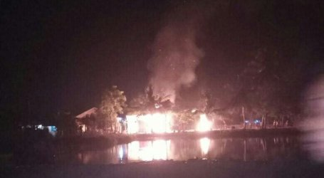 A Mosque in Aceh Province Burned Down