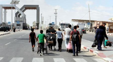 Rafah Crossing Opens in Both Directions for Four Days