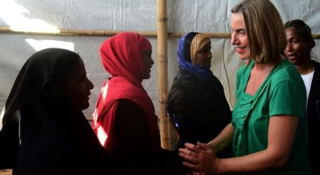 Mogherini: EU to Mobilise International Community to Support Rohingya Muslims