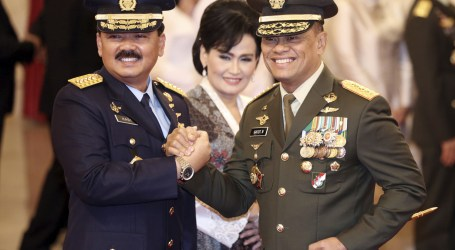 Air Marshal Hadi Tjahjanto Has Strong Leadership Skills, Says President