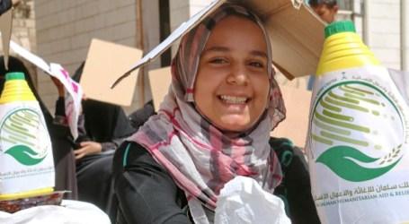 Saudi Arabia Distributes Food Baskets in Yemen
