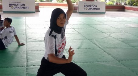 Asma Jehma, The Only Thai Athletes to Wear Hijab on Test Event Asian Games 2018
