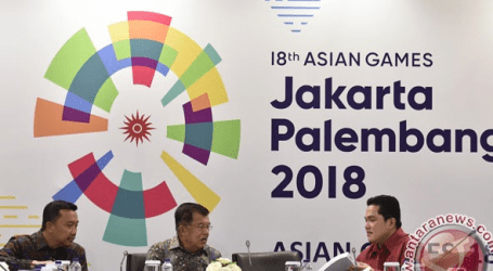 Indonesia Asian Games Organizing Committee to Establish Security Zones