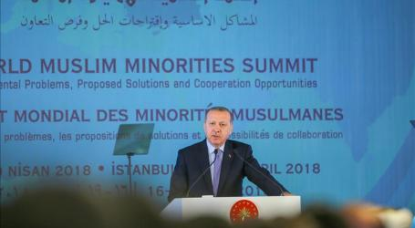 Erdogan Urges Unity at World Muslim Minorities Summit