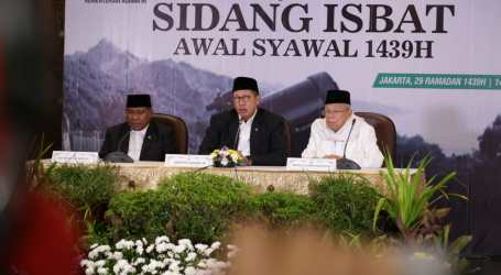 Indonesian Government Decides Eid Al-Fitr 1439 H on Friday