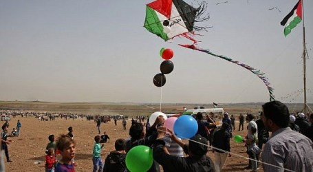 Fire Balloons Burn 41 Israeli Territories on the Outskirts of Gaza