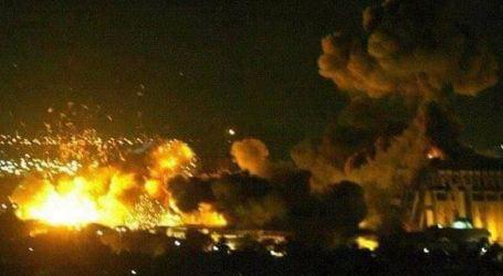 Israel Strikes Targets East of Aleppo
