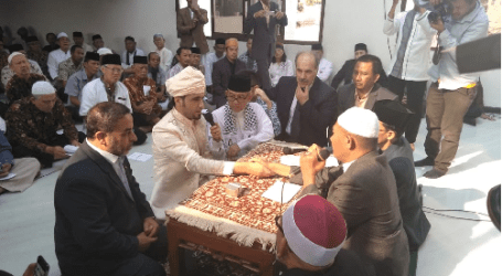 Indonesian-Palestinian Wedding Attended by Embassy and Gazan Ulema Representative