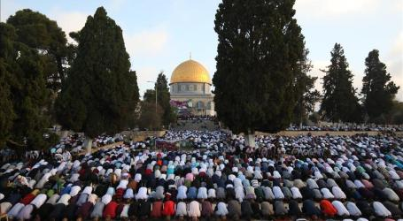 Friday Prayers at Al-Aqsa Mosque in Palestine