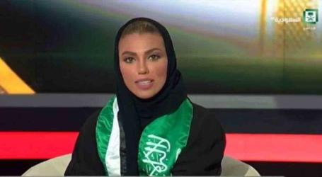 Saudi State Television Sees First Female News Presenter
