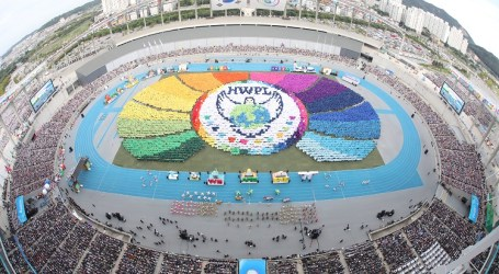"A Festival of ""Heavenly Culture on Earth, Onward to a World of Lasting Peace"" Held in South Korea"