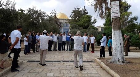 Israeli Fanatics Break Into Aqsa Mosque