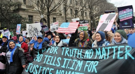 Muslim Women Raise Their Voices Against Trump's Policies