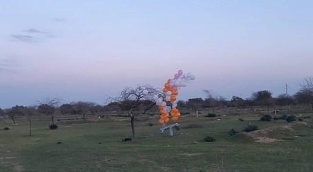 Gaza Incendiary Balloons Burn 36 Israeli Settlements