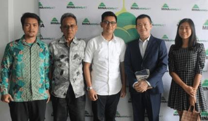 TETO Information&Press Director Visits MINA News Agency