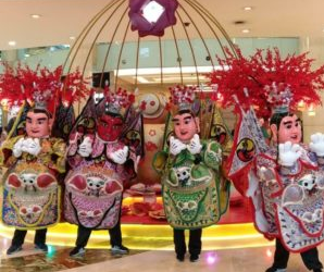 Taiwan's Onde-ondel Presented at Cap Go Meh in  Indonesia