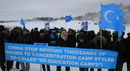 Protests Against China's Uighur Policy Held in Sweden