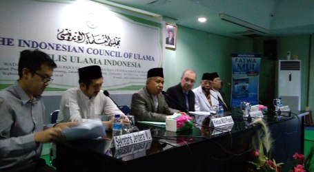 NZ Embassy's Charge d'Affairs Meet Indonesian Ulema in Jakarta