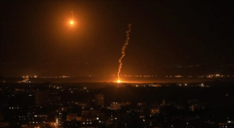 Israel Jets Launch Airstrike Target Hamas Posts