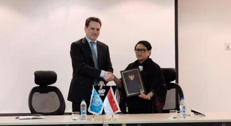 Indonesia-UNRWA Signs Agreement on Contribution to Palestinian Refugees