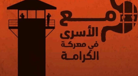 Mass Hunger Strike in Israeli Jails Continues for Fifth Day Running
