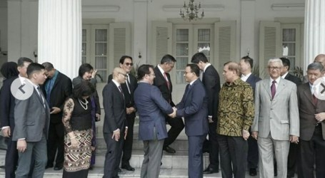 Jakarta Governor Holds Diplomatic Corps Gathering