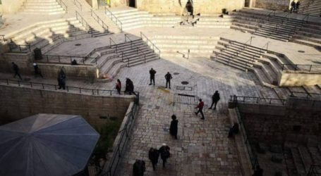 Israel Closes Again Al-Amud Gate of Al-Aqsa Mosque