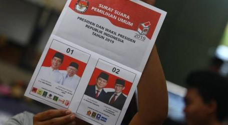 2019 Indonesian Election Results Officially Announced on May 22