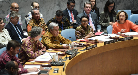Indonesia Gives Special Attention to Palestine in UNSC