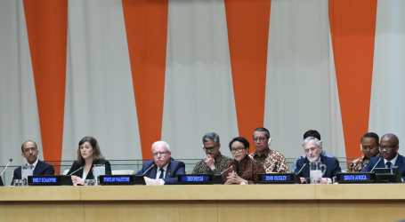 Indonesian FM Calls for Solidarity Day for Palestinian Victims of Illegal Settlement