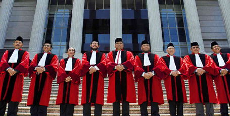 Constitutional Court Judges Read Legal Considerations
