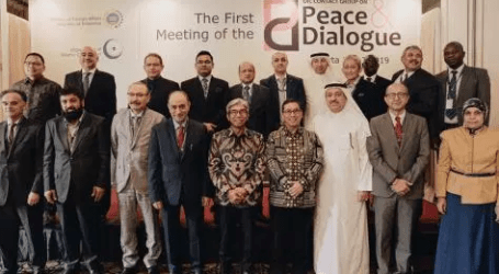 OIC's Peace, Dialogue Meeting Held in Jakarta